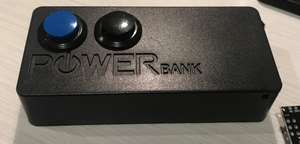 Battery Powered ESP Dual ESP-01 Push Button